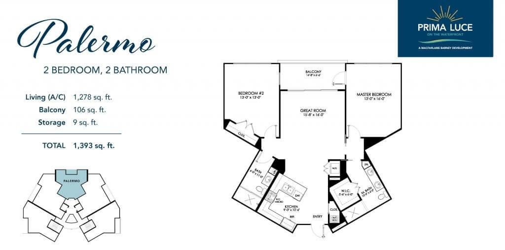 Palermo Floor Plan