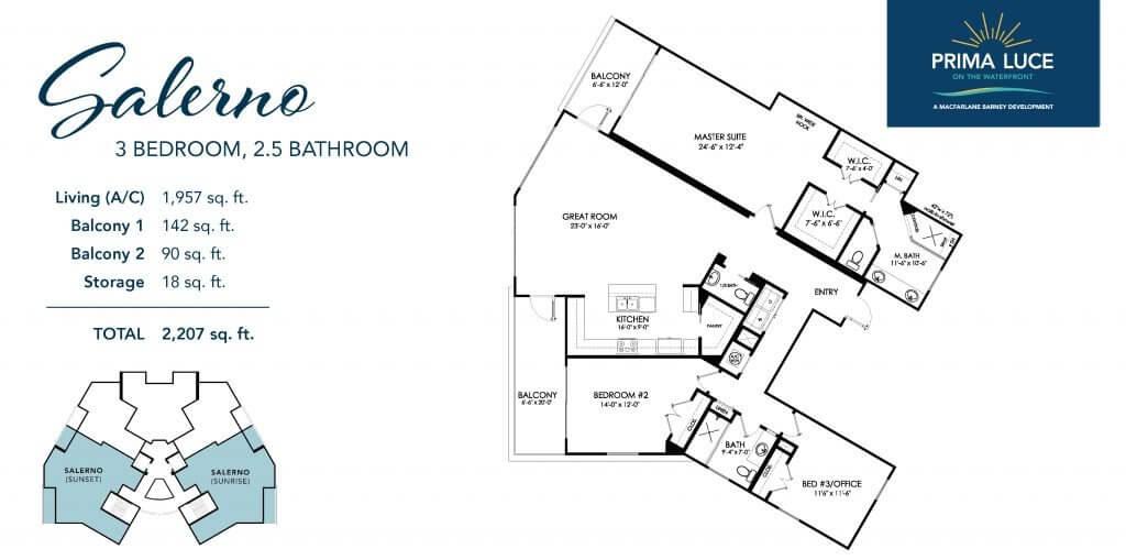 Salerno Floor Plan