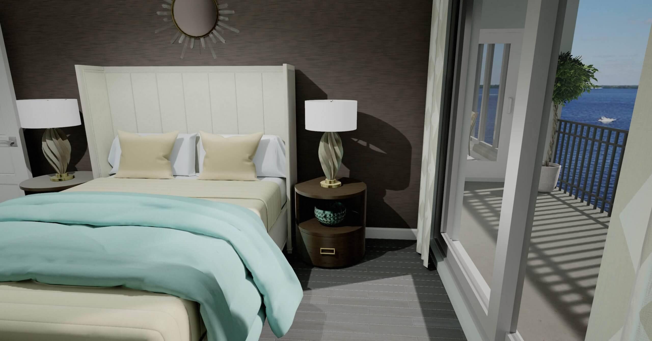 Ravello Master Bedroom