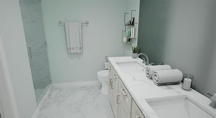Palermo Master Bathroom