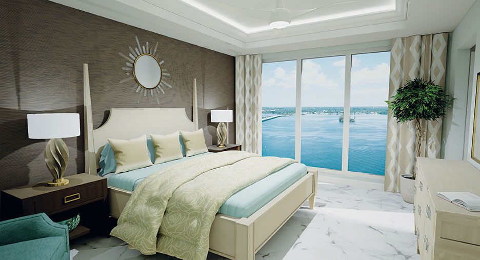 Palermo Master Bedroom