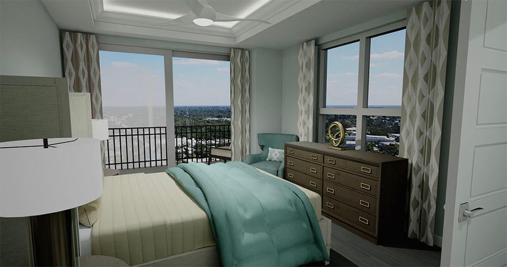 Salerno Second Bedroom